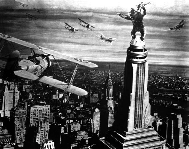 «Кинг-Конг», 1933, режиссёр Мериан Купер